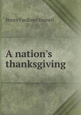 A Nation's Thanksgiving
