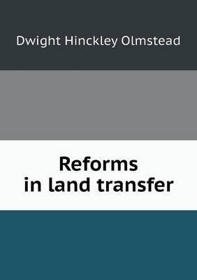 Reforms in Land Transfer