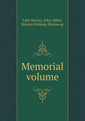 Memorial Volume