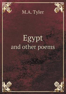 Egypt and Other Poems