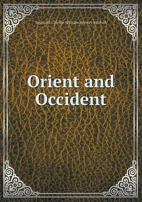 Orient and Occident