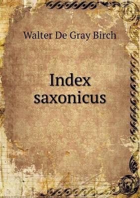 Index Saxonicus