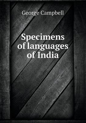 Specimens of Languages of India
