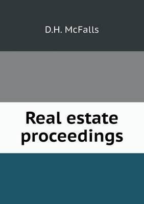 Real Estate Proceedings