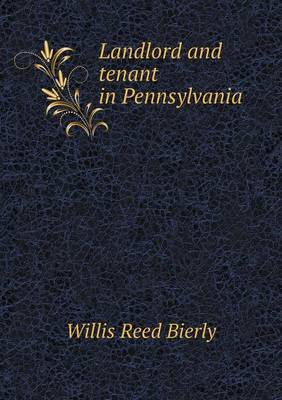 Landlord and Tenant in Pennsylvania