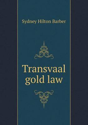 Transvaal Gold Law