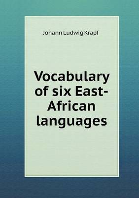 Vocabulary of Six East-African Languages