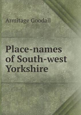 Place-Names of South-West Yorkshire