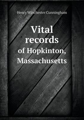 Vital Records of Hopkinton, Massachusetts