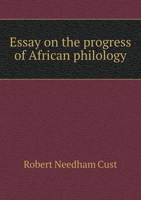 Essay on the Progress of African Philology