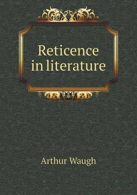 Reticence in Literature