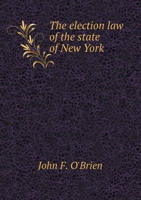 The Election Law of the State of New York