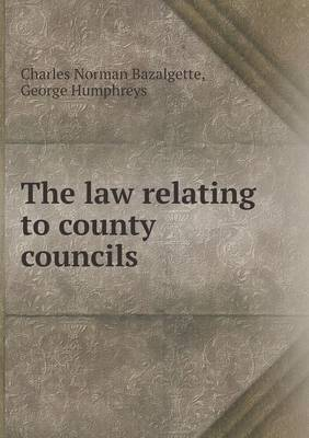 The Law Relating to County Councils