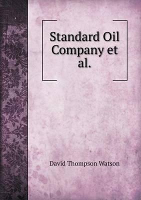 Standard Oil Company et al