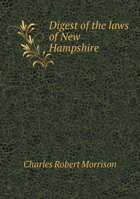 Digest of the Laws of New Hampshire