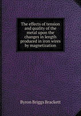The Effects of Tension and Quality of the Metal Upon the Changes in Length Produced in Iron Wires by Magnetization