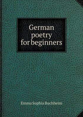German Poetry for Beginners