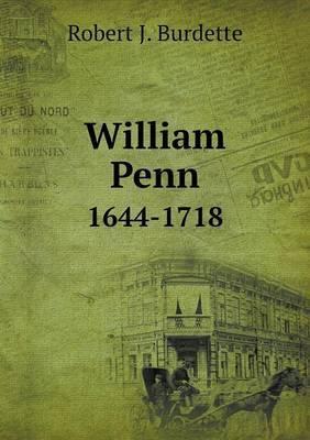 William Penn 1644-1718