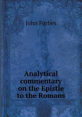 Analytical Commentary on the Epistle to the Romans