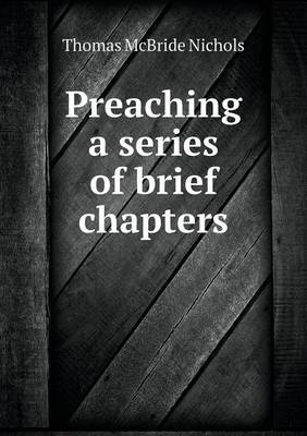 Preaching a Series of Brief Chapters