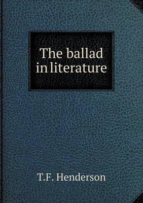 The Ballad in Literature