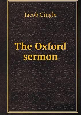The Oxford Sermon