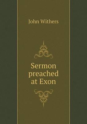 Sermon Preached at Exon
