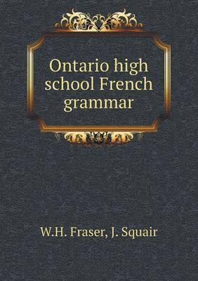 Ontario High School French Grammar