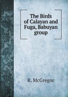 The Birds of Calayan and Fuga, Babuyan Group