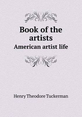 Book of the Artists American Artist Life