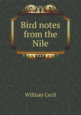 Bird Notes from the Nile