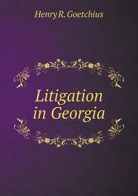 Litigation in Georgia