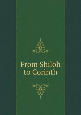 From Shiloh to Corinth
