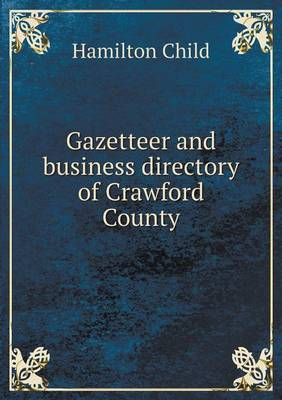Gazetteer and Business Directory of Crawford County