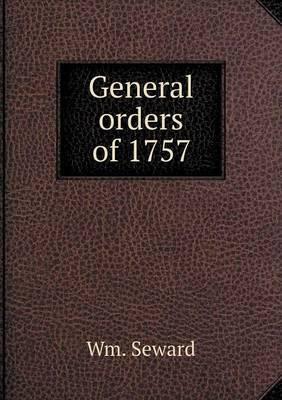 General Orders of 1757