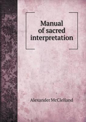 Manual of Sacred Interpretation