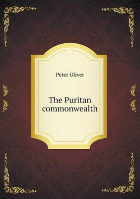 The Puritan Commonwealth