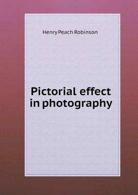 Pictorial Effect in Photography