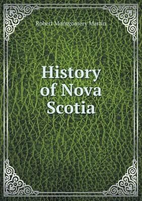 History of Nova Scotia