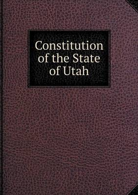 Constitution of the State of Utah