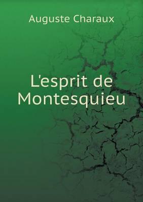 L'Esprit de Montesquieu