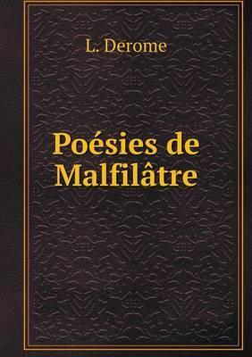 Poesies de Malfilatre
