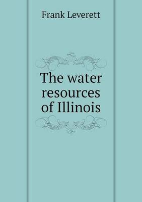 The Water Resources of Illinois