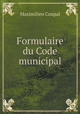 Formulaire Du Code Municipal