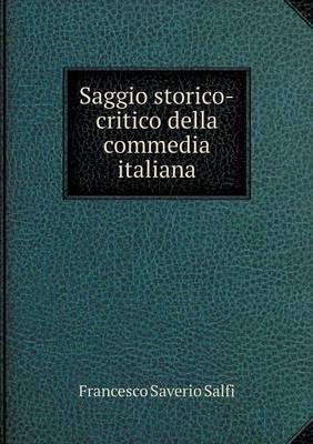Saggio Storico-Critico Della Commedia Italiana