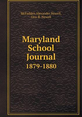 Maryland School Journal 1879-1880