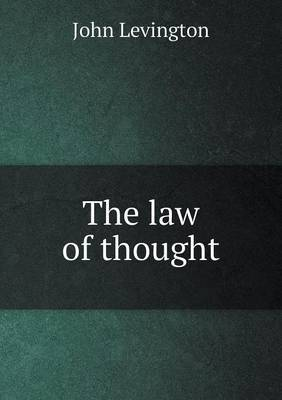 The Law of Thought