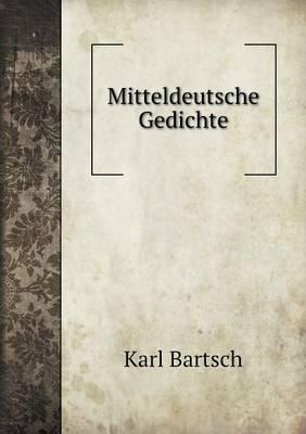 Mitteldeutsche Gedichte