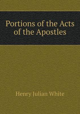 Portions of the Acts of the Apostles