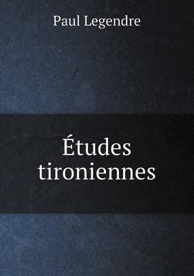 Etudes Tironiennes